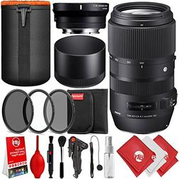 Sigma 100-400mm f/5-6.3 DG OS HSM Lens for for Canon EF with