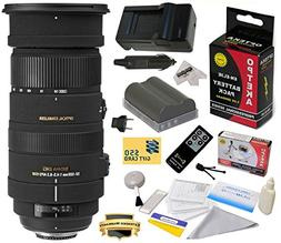 Sigma 50-500mm f/4.5-6.3 APO DG OS HSM Lens  With 3 Year Ext
