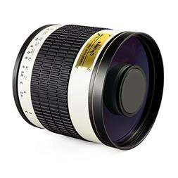 Opteka 500mm/1000mm f6.3 HD Telephoto Mirror Lens for Pentax