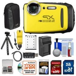 Fujifilm FinePix XP130 Waterproof Digital Camera w/16GB SD C