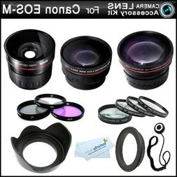Fisheye All In Lens Kit For The New Canon EOS-M Compact Syst