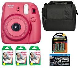 Fujifilm Instax Mini 8 Instant Film Camera  + 6 Pack Fuji In