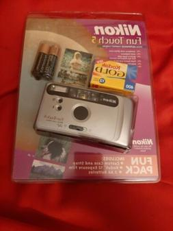 NIKON FUN TOUCH 5 AF Compact 35mm Point & Shoot Film CAMERA