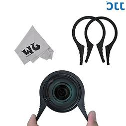 JW FW-4662 ABS Camera Lens Filter Wrench Kit For 46mm 49mm 5