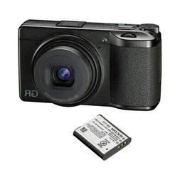 Ricoh GR III Compact Digital Camera + DB-110 Rechargeable Li