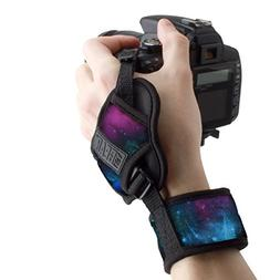 USA GEAR Professional Camera Grip Hand Strap with Galaxy Neo