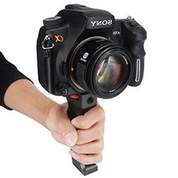Haoge Heavy Duty Metal Camera Hand Grip Holder for Canon Nik