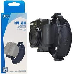 JJC HS-M1 Microfiber PU Leather Soft Camera Hand Grip Strap