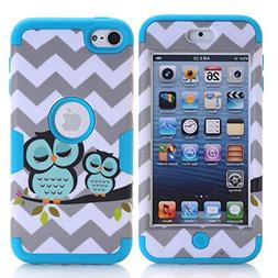 iPod Touch 6 Case , iPod Touch 5 Case, Alkax Slim Fit Heavy