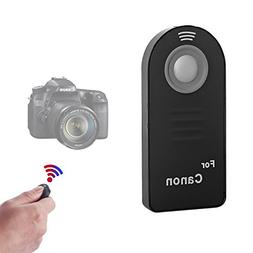 WAAO IR Wireless Shutter Remote Control Compatible with Cano