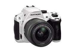 K-30 16.3 Megapixel Digital SLR Camera  - 18 mm - 55 mm - Wh