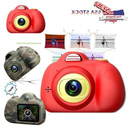 Kids Toy Camera Compact Cameras For Children Gifts 8MP HD Vi