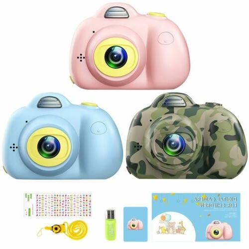 1080p Dual-Lens Kids Childrens Cam