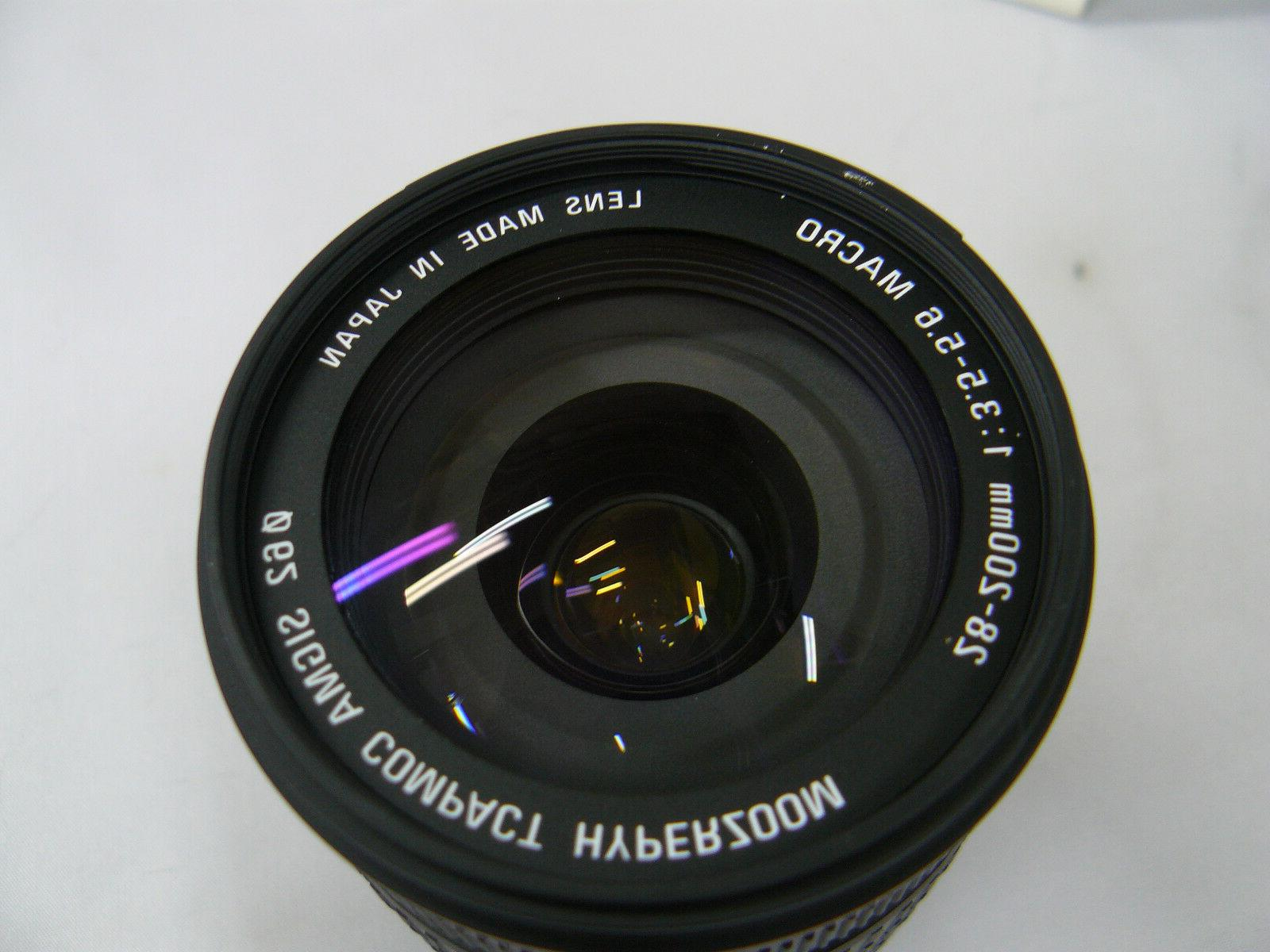 Sigma 28-200mm f3.5-5.6 Hyperzoom Lens for