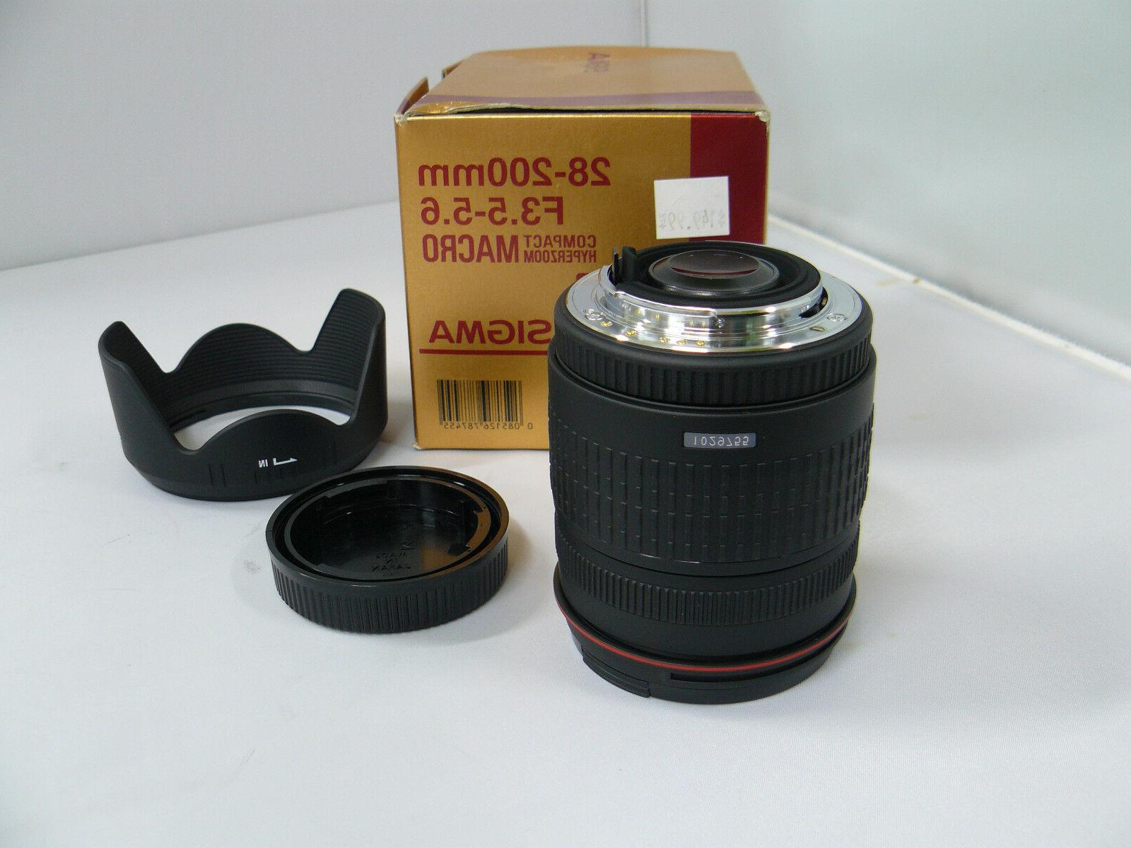 Sigma f3.5-5.6 Hyperzoom Macro for Pentax 35mm