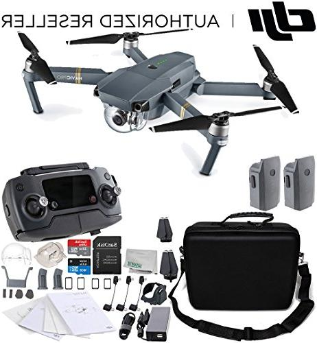 DJI Mavic Pro Collapsible Quadcopter Water-Resistant Rugged