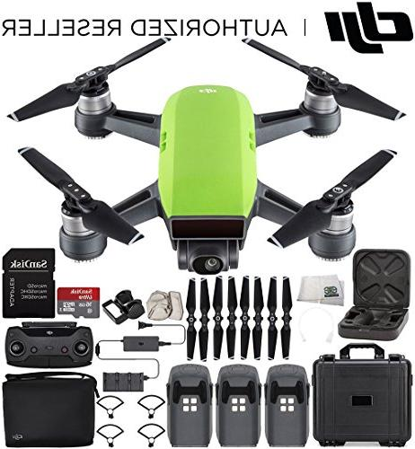 DJI Spark Portable Mini Drone Quadcopter Fly More Combo Port