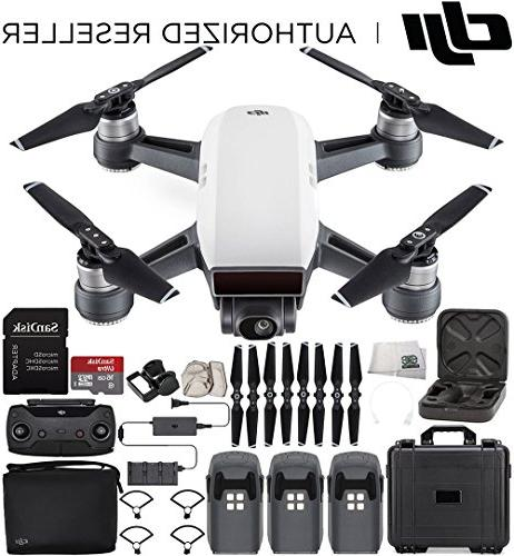 DJI Spark Portable Mini Drone Quadcopter Fly More Combo Wate