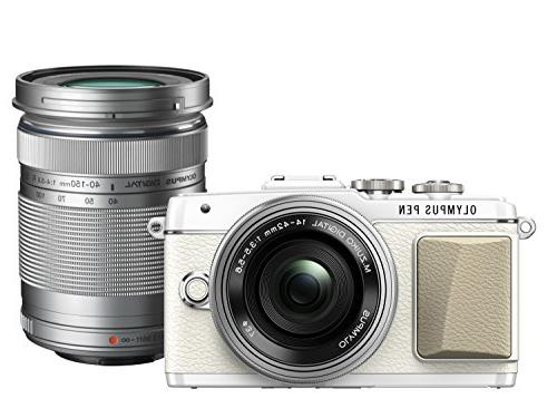 Olympus PEN Lite E-PL7  with 14-42mm EZ and 40-150mm Lens  -