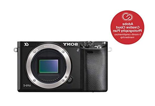 Sony Mirrorless Digital 24.3MP Camera with 3.0-Inch LCD w/16-50mm Power Zoom Lens