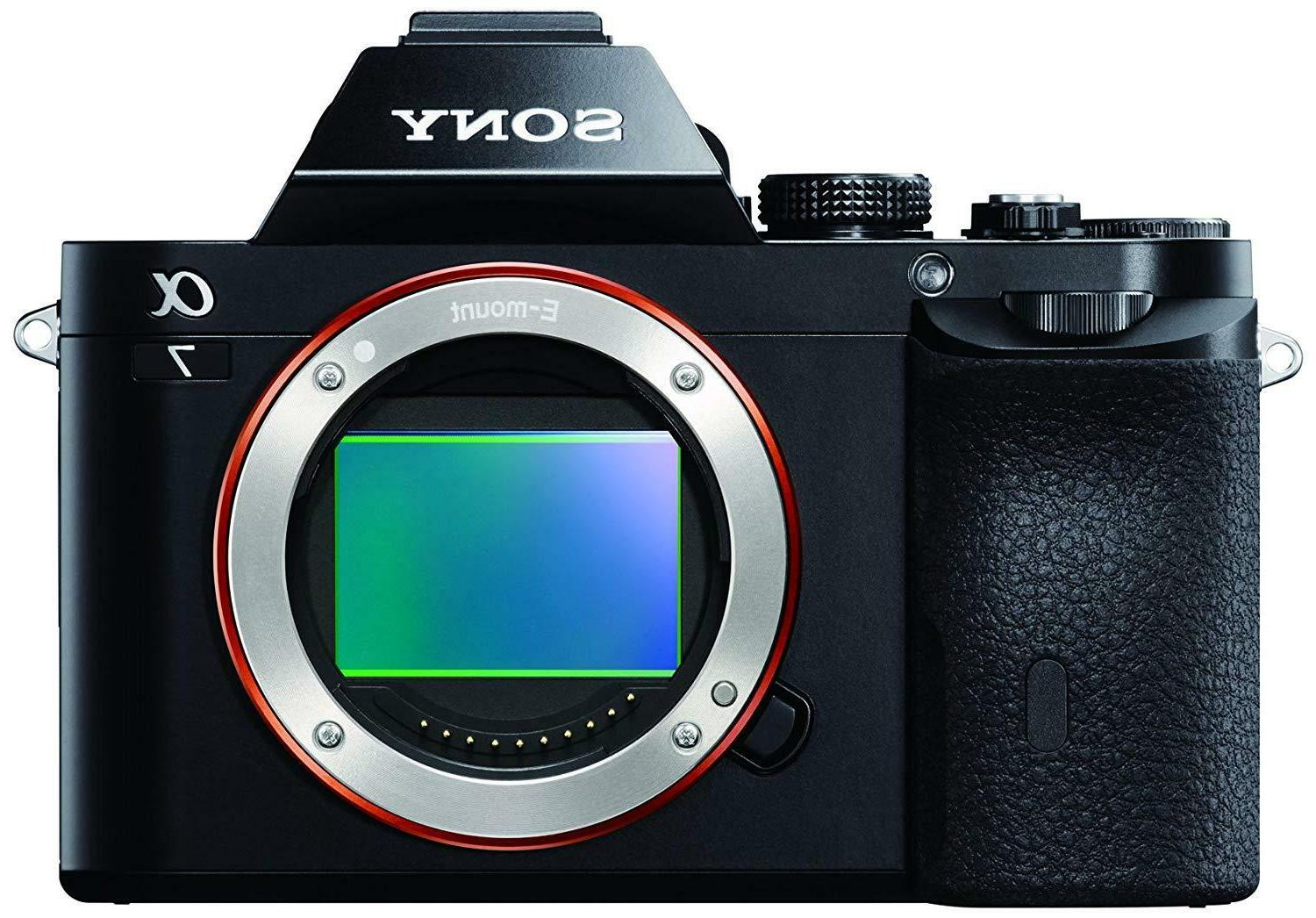 """Sony A7 Mirrorless 3"""" LCD Compact System 24.3 MP - Body Only"""
