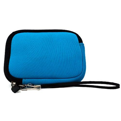 Baby Black Trim Neoprene Carrying Sleeve with Extra for Fujifilm FinePix