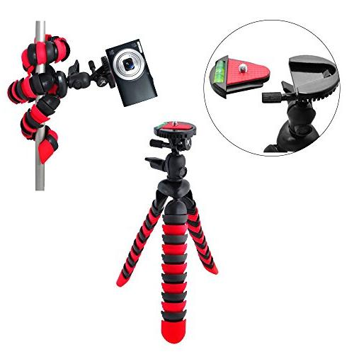 Canon PowerShot X Mark Camera + Card + Point Shoot Case Tripod + USB Reader + Cleaning Kit + LCD Protectors - Accessory