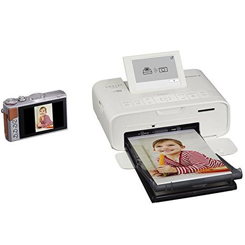 Canon SELPHY Wireless Compact Photo Canon Paper + Printer Ultra Cleaning Cloth