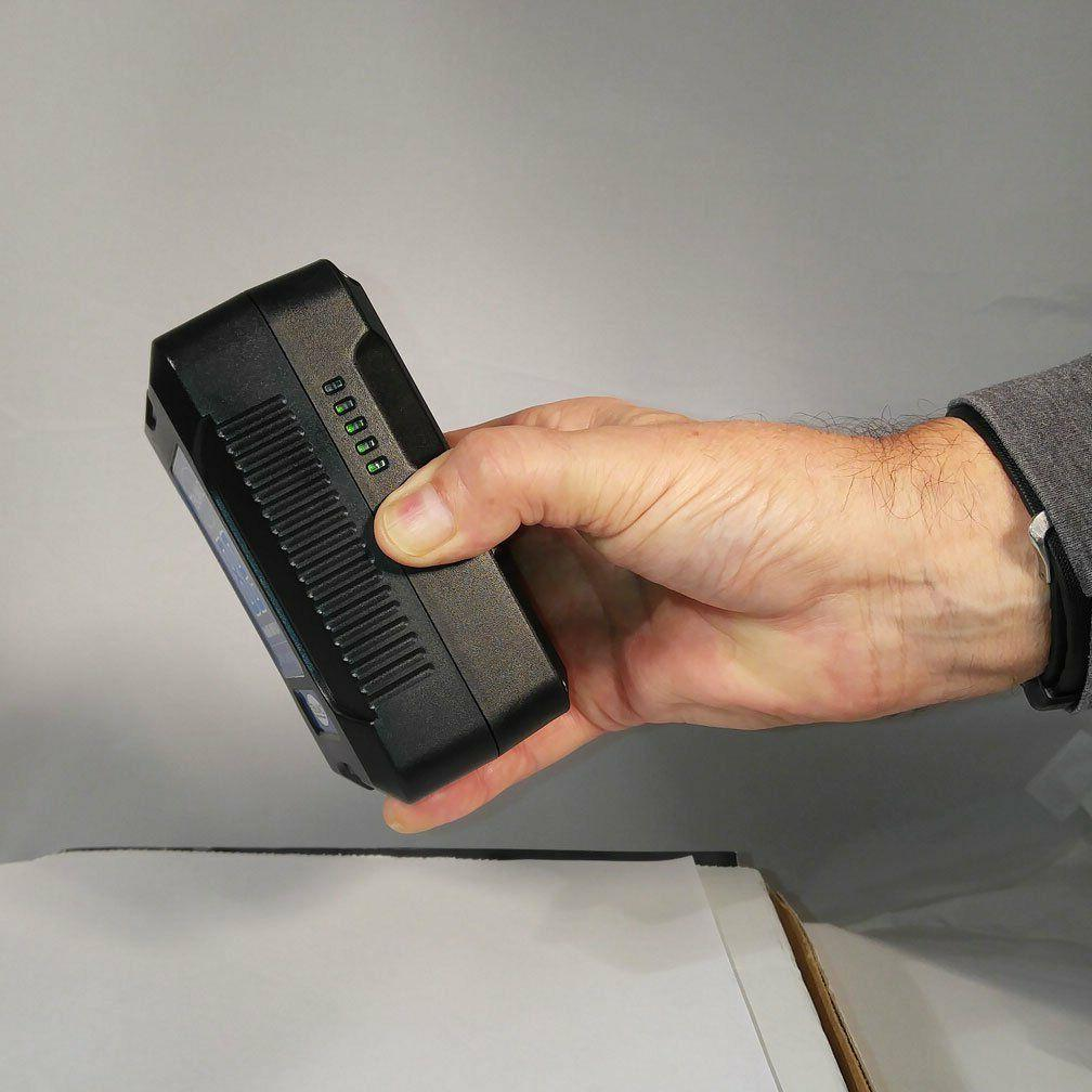 Rolux Li-ion Battery Level to Camera