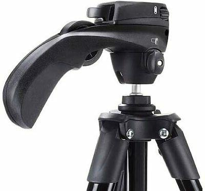 Manfrotto Compact Action Aluminum 5-Section Tripod Kit Hybrid