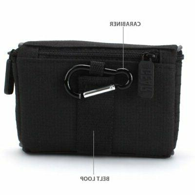 USA GEAR Camera Case with Loop , Impact-Resistant Protective Ny