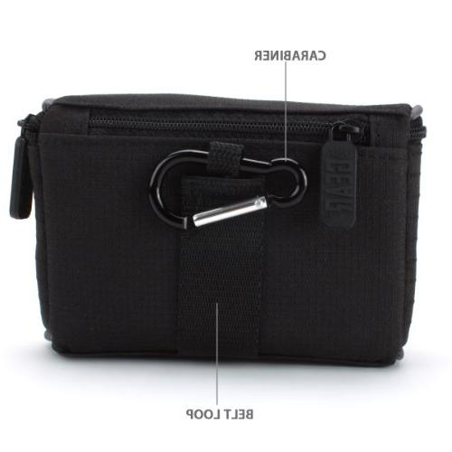 Nylon Digital Camera Cover Bag Impact-Resistant Interior , Accessory & USA With , DSC-HX80 , IV More Cameras!