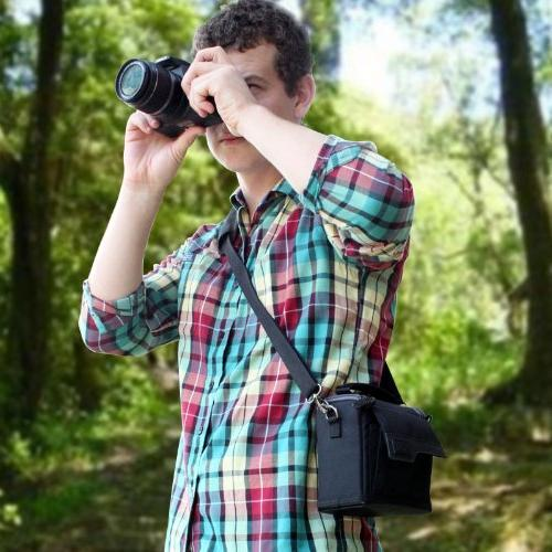 Compact Camera Travel Bag with , Ripstop Exterior by - Works With M10 HS , and More