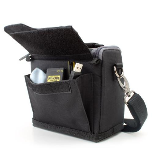 Compact Travel Holster Bag with Shoulder , Durable by GEAR Works EOS M10 HS and