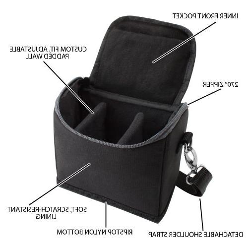 Compact Travel Holster Bag Sling , Ripstop Exterior Storage by GEAR - Works With Canon M10 , HS , and More