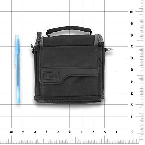 Bag with , Durable Ripstop Exterior & Pockets by USA Works M10 , SX720 HS , and