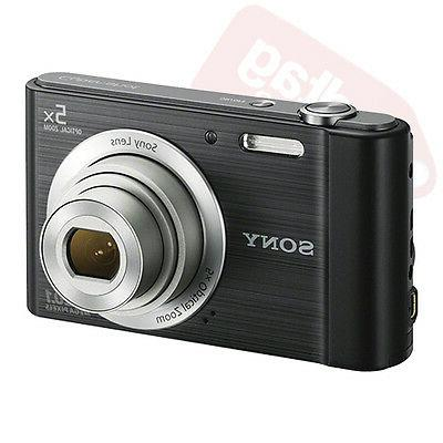 Sony Cyber-shot Digital Camera Optical Zoom Black