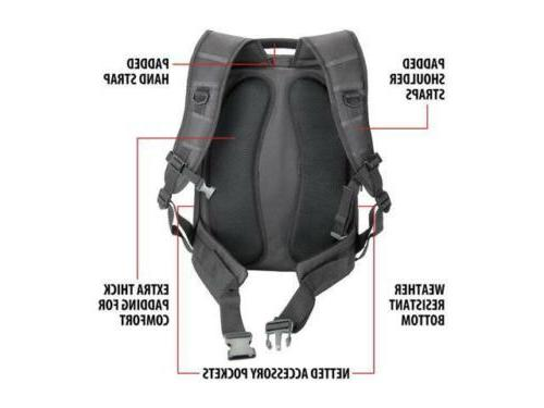 DSLR/SLR Backpack with Laptop Gear Includes Front Lo