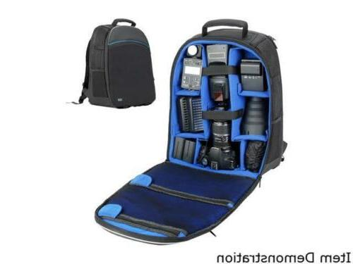 DSLR/SLR Camera Backpack with Laptop by USA Gear Lo