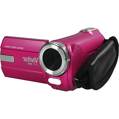 Vivitar 8.1 MP Digital Camcorder - Pink