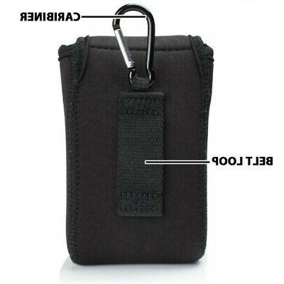 Flex Compact Camera Case with Carabiner & Belt