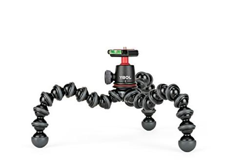 JOBY GorillaPod 3K Compact and Ballhead 3K Compact Mirrorless Devices to . Black/Charcoal.