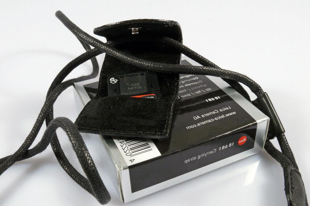 leica compact leather neck and wrist strap
