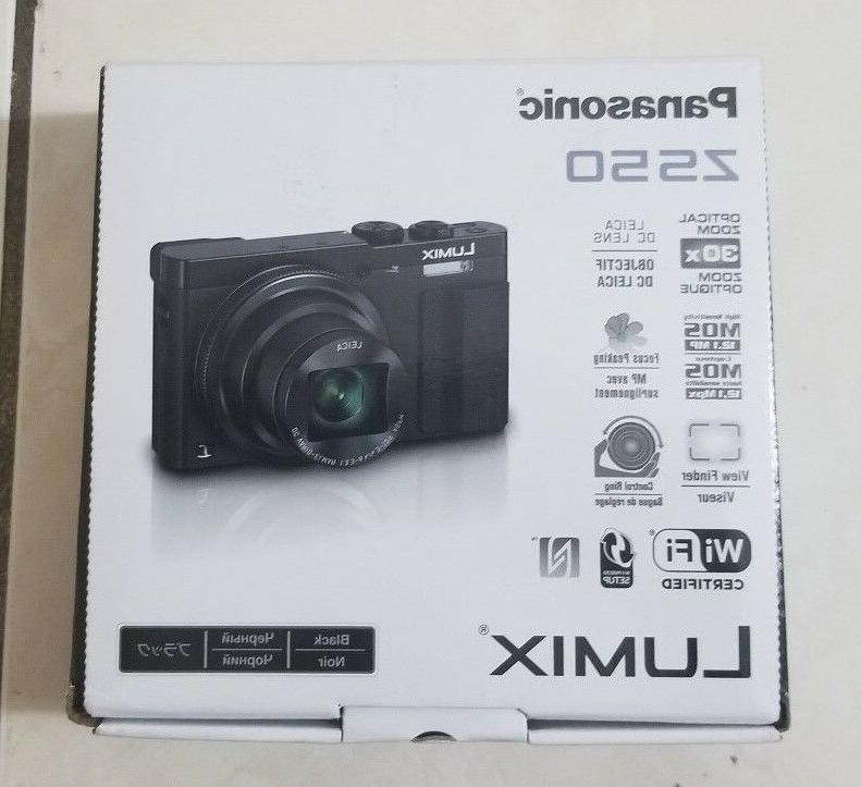 lumix zs50 camera black new