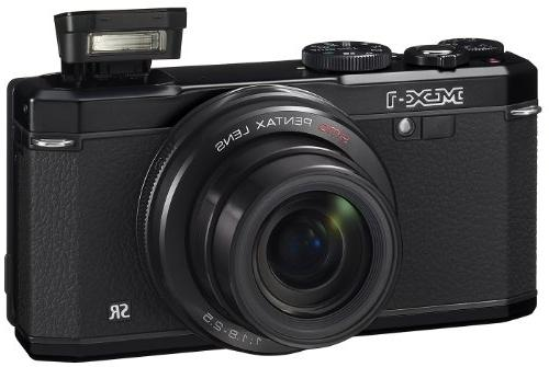 Pentax MX-1 12 Black 4x Image Zoom and Screen