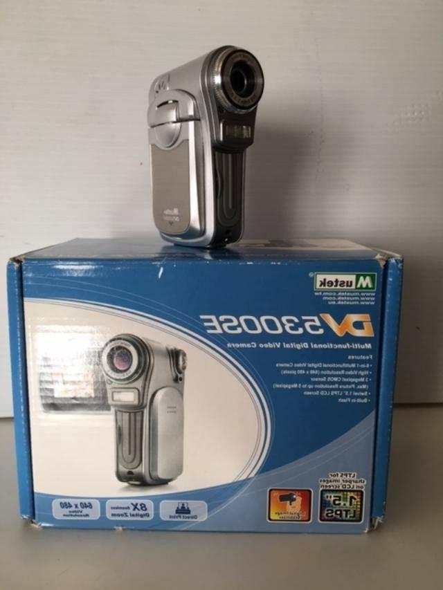 new 5300se compact camcorder camera voice recorder