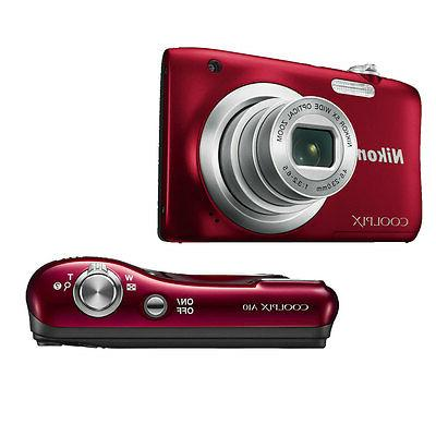 Nikon Coolpix MP, Compact Red