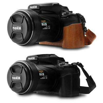 nikon coolpix p1000 ever ready leather camera