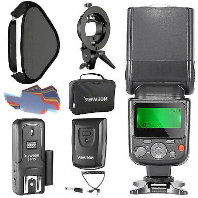 Neewer NW-670 TTL Flash Speedlite Kit for Canon DSLR Cameras