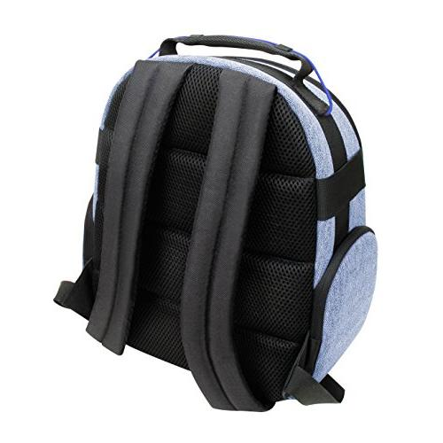 Portable Backpack DSLR/SLR USA Weather Resistant Bottom, Comfortable Back EOS T5 - D3400 and